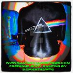 Pink floyd body painting party by Samantha Wpg.com