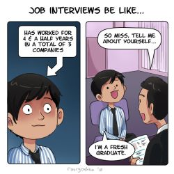 Job Interview by Chocoreaper