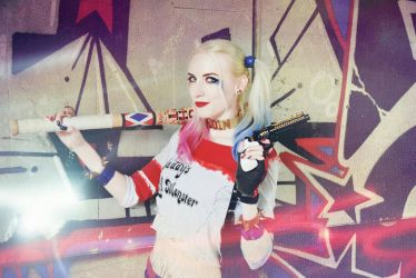 Harley Quinn Suicide  Squad cosplay by Jiosan