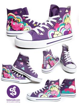 Unicorn Chuckz by Bobsmade