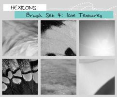Icon Sized Texture Brushes by thewakeofsaturday