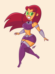 Starfire by Frederick-Art
