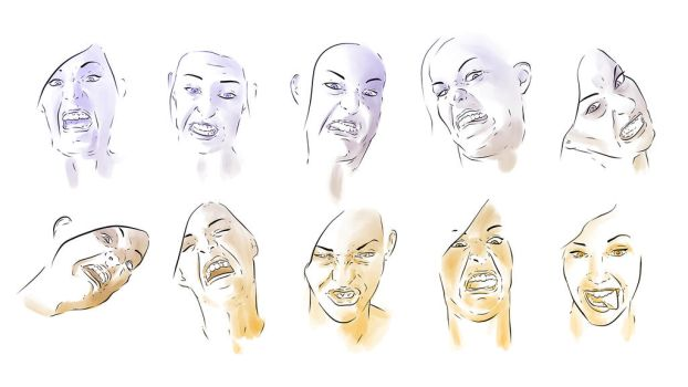 Dodger Faces by Karbacca