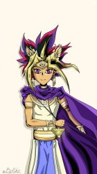 Atem from Yu-gi-oh! (Suitable for phone wallpaper) by Saphyra991