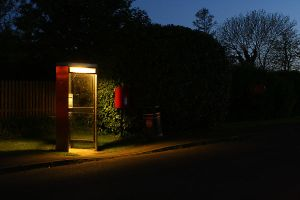 Twilight phone box by Deaddoll666