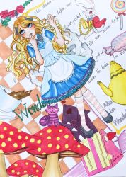 Alice in Wonderland by mienthao0910