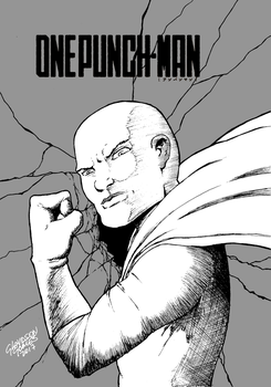 Onepunch-man by GlaydsonGomes