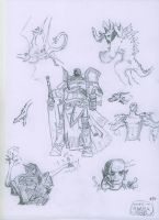 Shards of Alara Sketches by Count-Archek-Brauer
