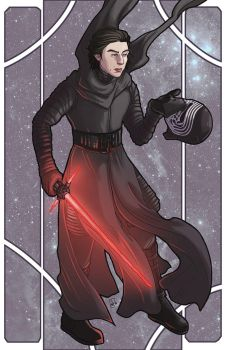 Kylo Ren by xandrei