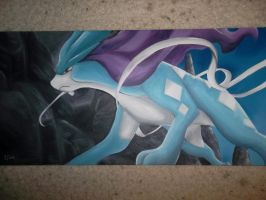 Pokemon: Suicune by ChloeQueen