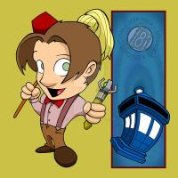 Doctor Who - 11th Doctor Chibi by Sideways8Studios
