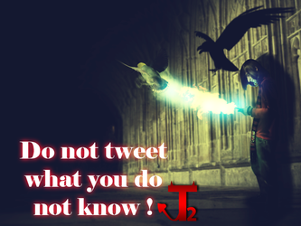 Do not tweet what you do not know ! by tamer888