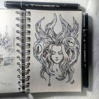 Instaart - Horns by Candra