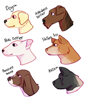 Doggos by Meow-Lord