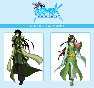GtRO - Color Palette Swap: Galinthias and Shion by MystiqueGoddess