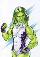 She Hulk by andysparke