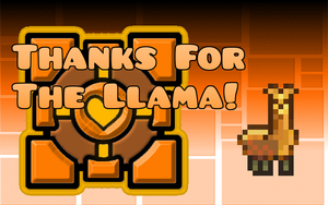 Thanks for The Llama by befree2209