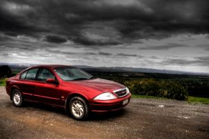 Car in HDR by Grayda