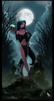 Death Becomes Her by firecrow78