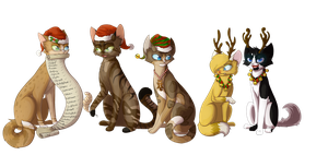 A Kugyay Christmas by Bluefire-kitteh