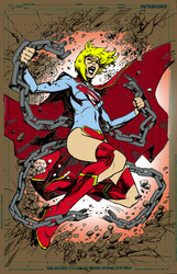 Supergirl By Cinar-d6r30p5 by ThePhantomComics