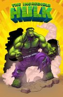 Hulk By Punchyninja 2nd color by Danimation2001 by danimation2001