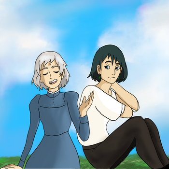Howl's Moving Castle by HannJazzRose