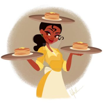 Tiana - Flapjacks by DylanBonner