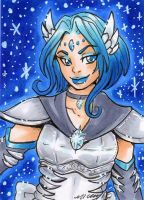 ACEO Sailor Alcyone by nickyflamingo