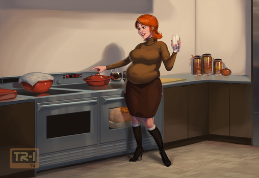 Cooking with Trina 2/5 by 0pik-0ort