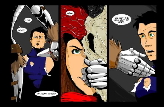 Lets Just Be Foes  issue 3 page 4 by NathanKroll