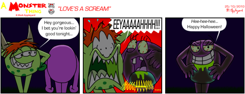 AMT - Love's A Scream by BluebottleFlyer