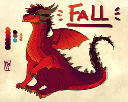 Fall Dragon by Frosted-Monster