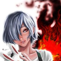 Touka Kirishima Re by gscratcher