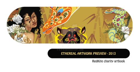 Ethereal Charity artbook preview by S-P-N