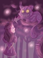 The Cheshire Cat by Giant-cheeseburger