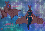 Zasal the cybat by Nefepants