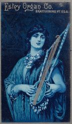 Victorian Advertising - Lady Plays the Blues by Yesterdays-Paper