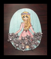 Diamond Flower Girl by DH-Students-Gallery