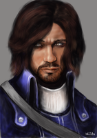 Corvo Attano (digital test 2) by Wolchenka