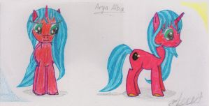 Request: Aryn Alba 1 (sketch) by Whisperer-of-Winds