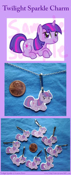 Twilight Sparkle Charm by VickyViolet