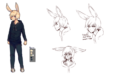 Sarin Reference Sheet by GlitchTheF0x