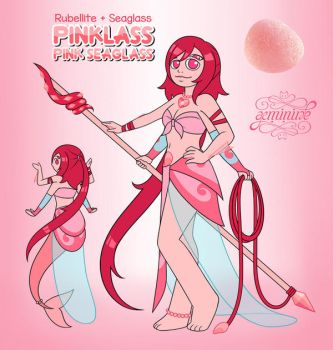 Commission - Pink Seaglass (Fusion) by Geminine-nyan