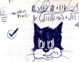 calculus cat by C-Y-Y-A