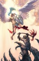 Demons and Angels by metalratrox