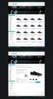 Webshop layout by Robke22