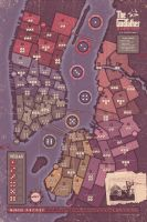The Godfather - A New Don - IDW - Gameboard by FabledCreative