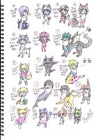 Fantasy Children Adopts OPEN! LOWERED!!! by OrangeSoulDarcy