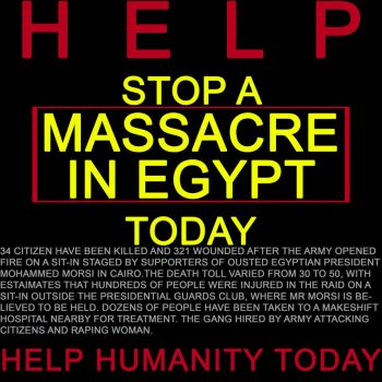 massacre  in Egypt by nazag